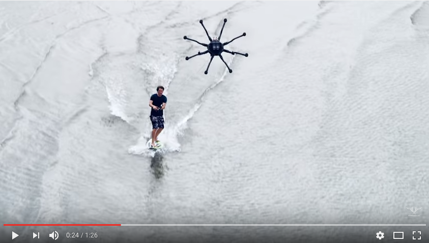 drone surfing freefly