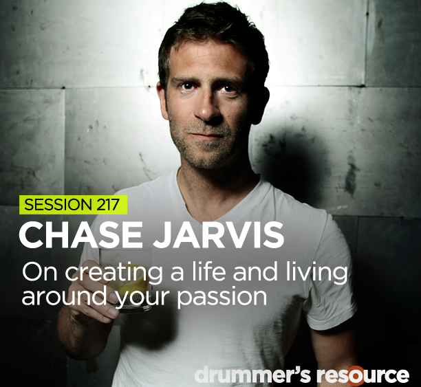 Chase Jarvis on the Drummers Resource