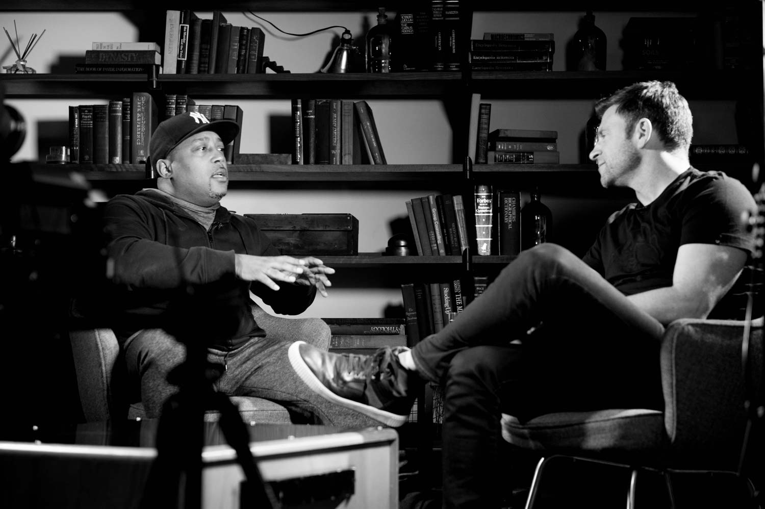 Daymond John and Chase Jarvis on 30 Days Of Genius