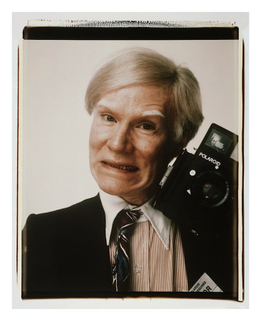FAMOUS! (and not-so-famous): Polaroids by Andy Warhol ...