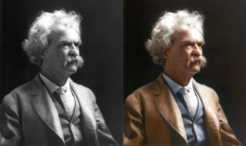 Restore old black and white photos photoshop