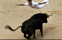 Gory To Graceful:  The Best Action Photos From The Running of the Bulls