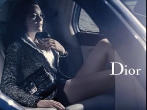 Dior ad, horizontal