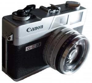 Canonet QL17 GIII. Image courtesy Wikipedia