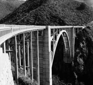 Bixby Bridge. Delta 100/Mamiya C33. Image © Sohail Mamdani.