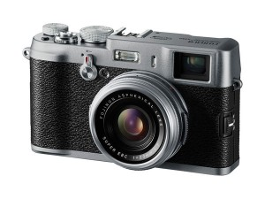 The X100, the camera that started it all for Fuji.