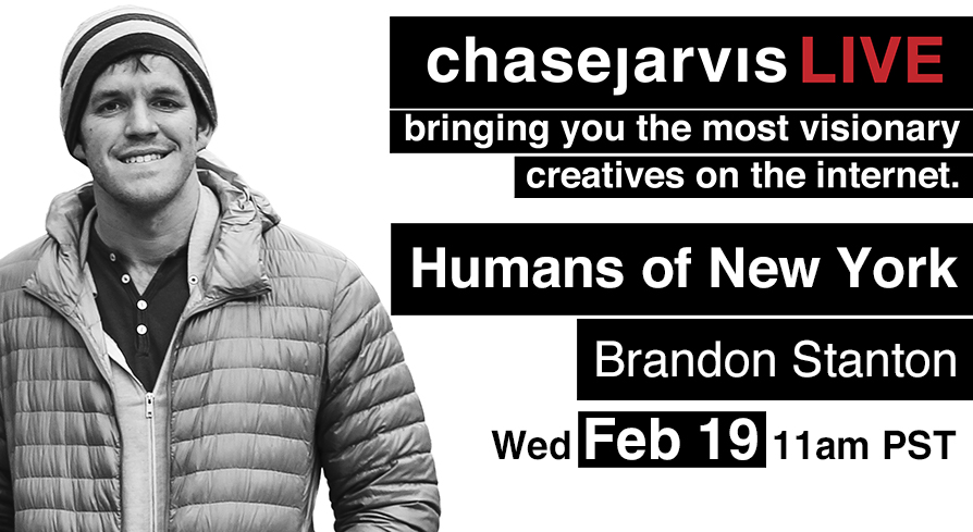 chase jarvis hony humans of new york brandon stanton