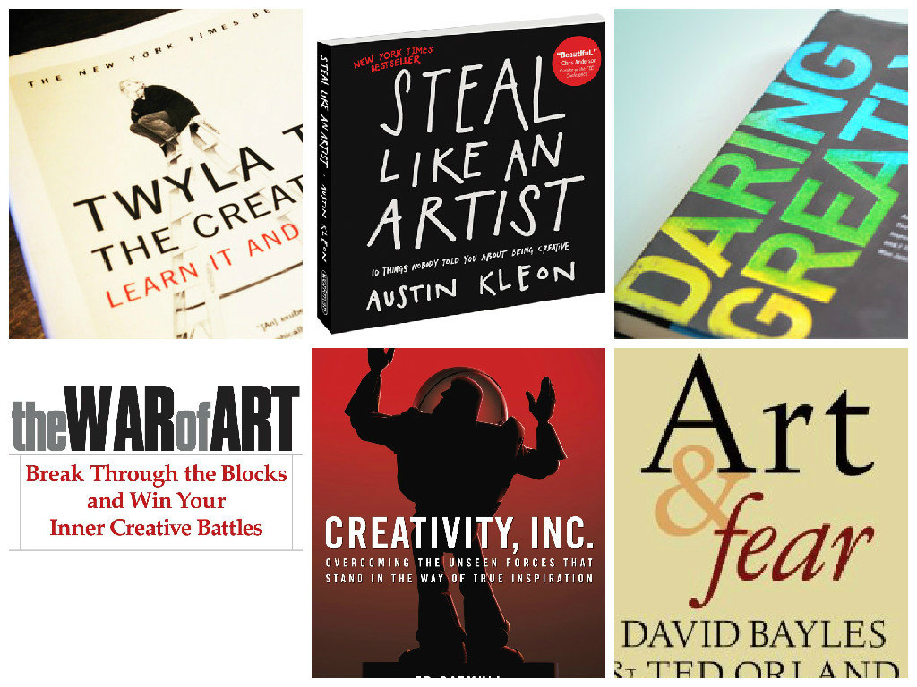 6 Books That WILL Make You More Creative