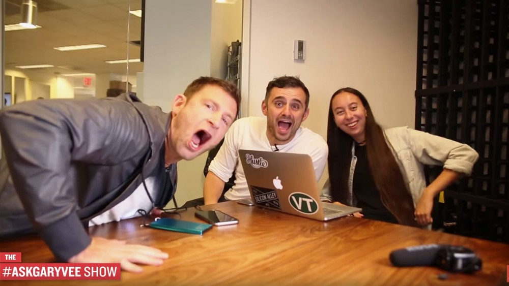I visit Gary Vaynerchuk in NYC and join in on the #askgaryvee show