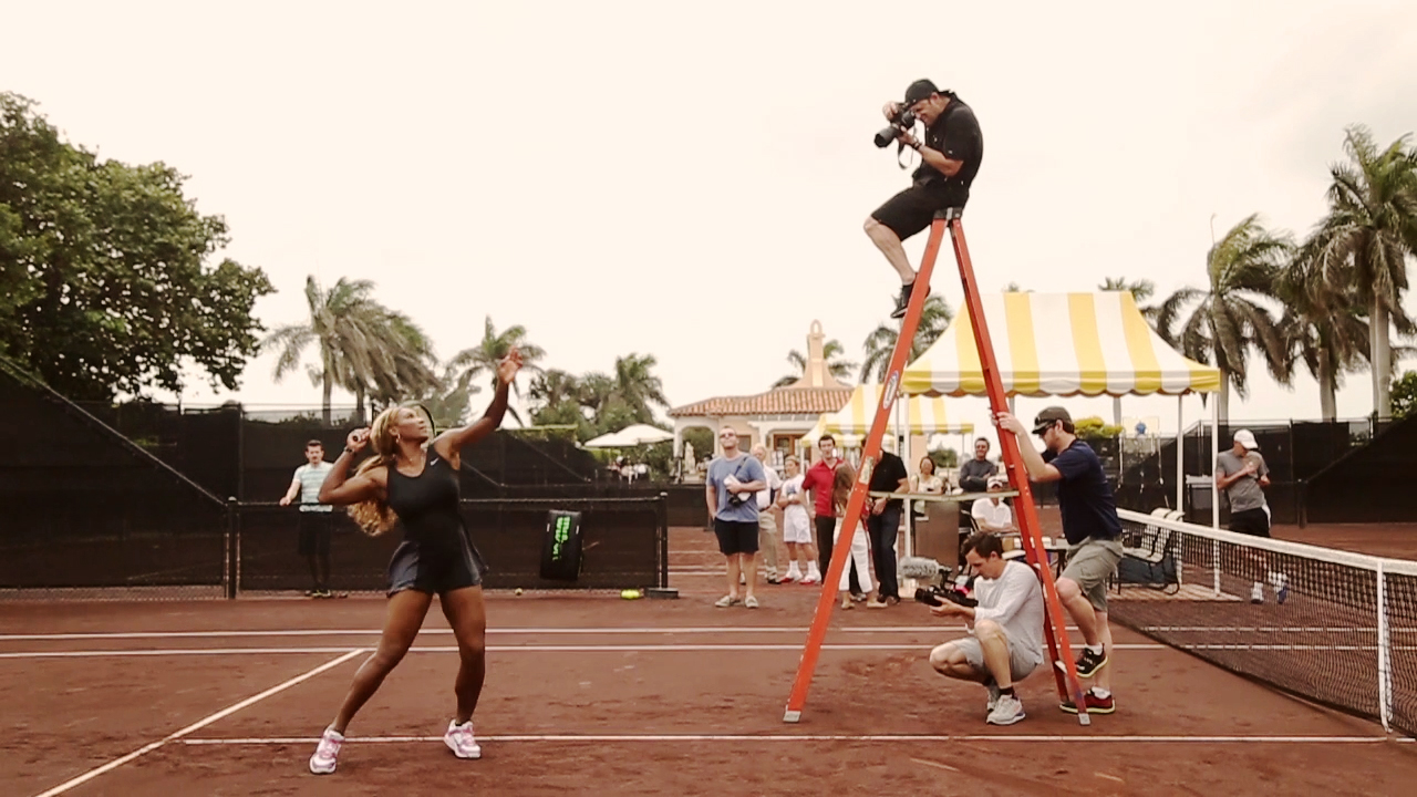serena williams on photo shoot with chase jarvis 2