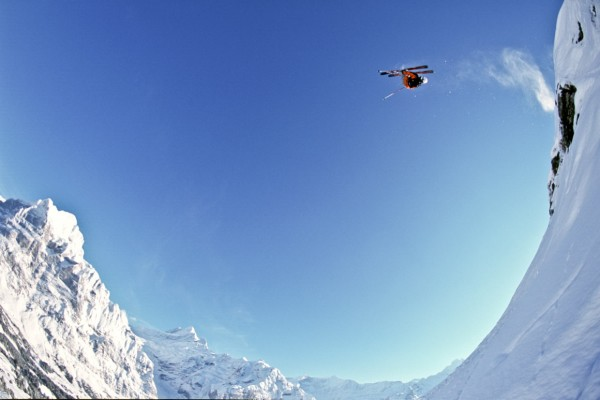 Big Air Skier