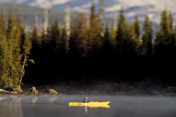 Lone Kayaker