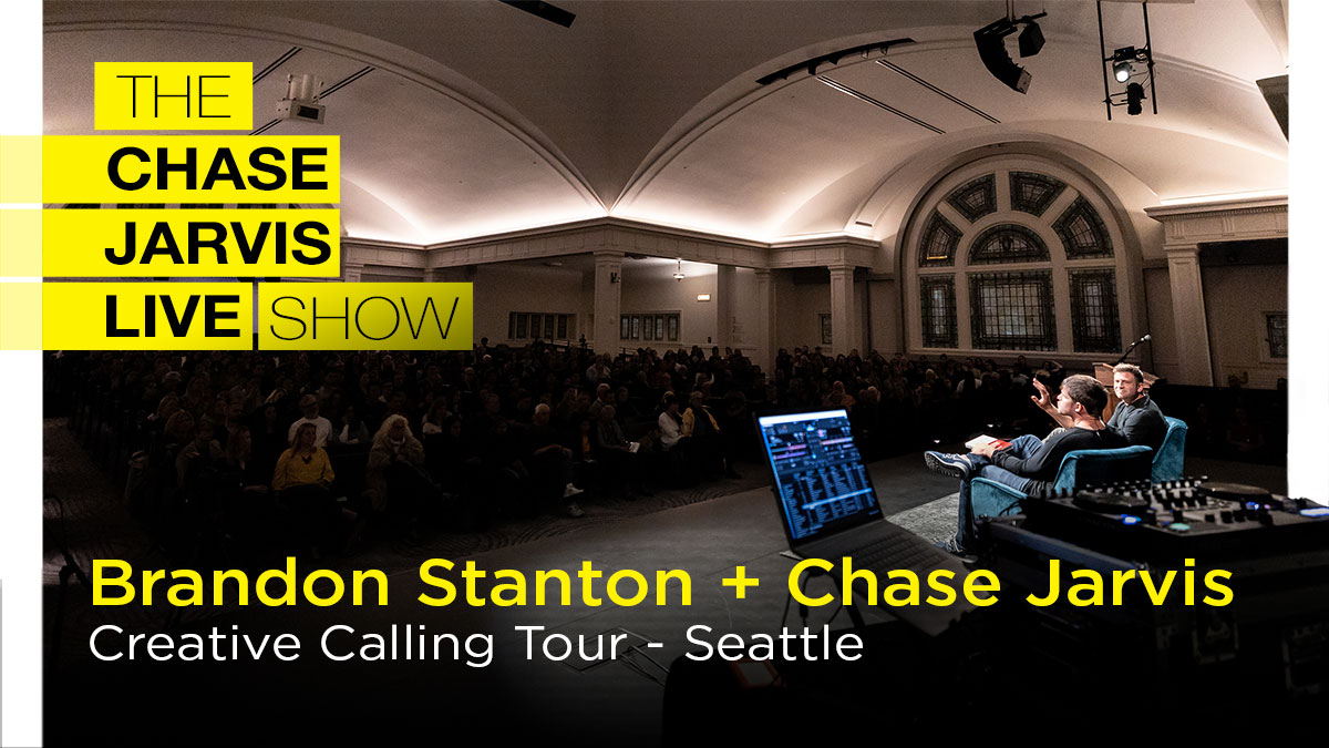 Imagine What's Possible - On Stage /w Humans of New York Creator Brandon Stanton | Chase Jarvis Photography